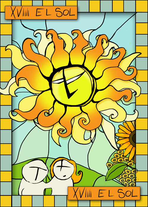 xvviiii el sol